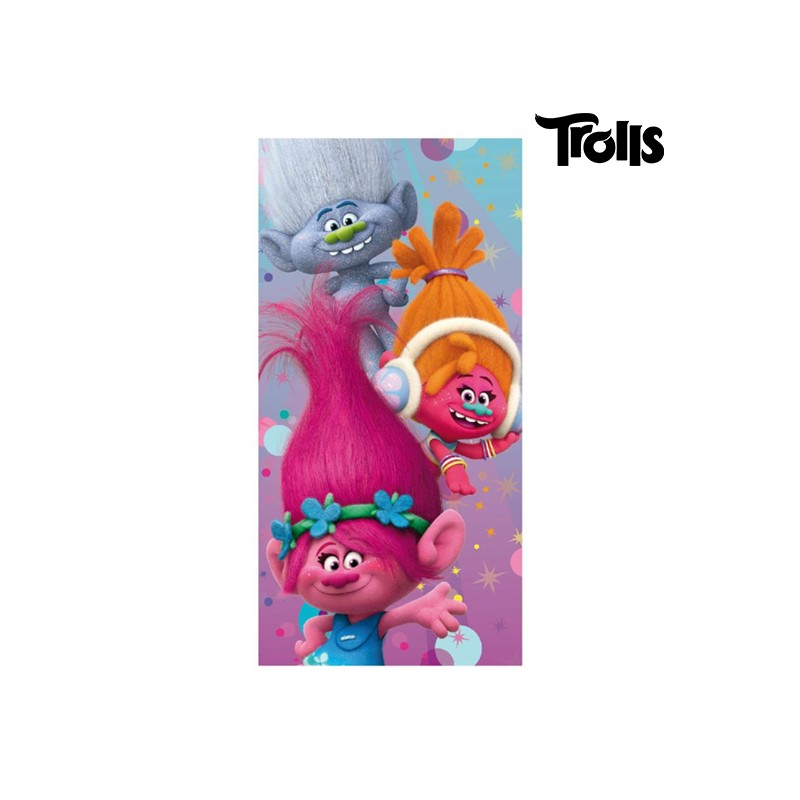 Trolls Beach Towel