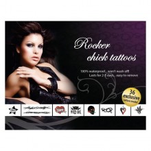 Rocker Chick Adult Body Art E21257