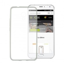 Mobile cover Meizu M3 Note Flex TPU Ultrafine Transparent