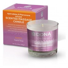 Scented Massage Candle Tropical Tease 225 ml Dona 5574