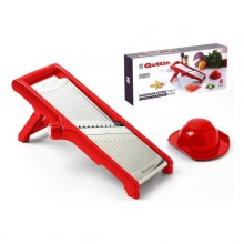 3-in-1 Mandolin Grater Quttin Red (40 X 17 x 3 cm)