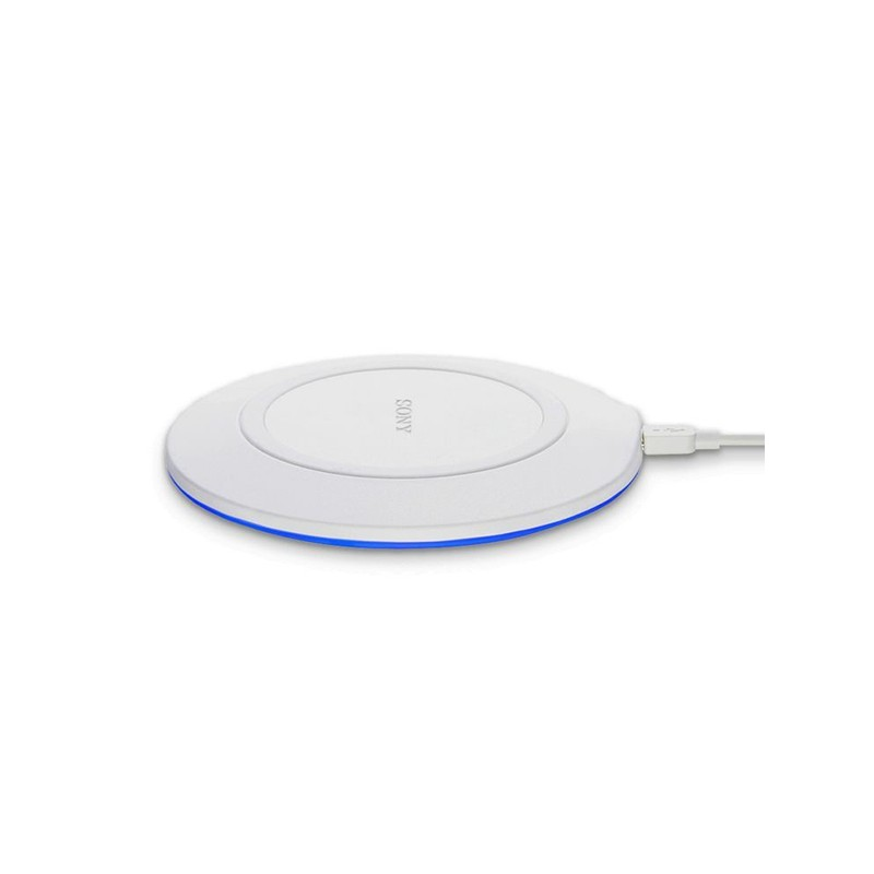 Qi Wireless Charger for Smartphones Sony CP-WP1 LED 5W White