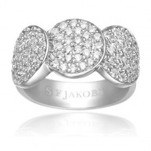 Ladies' Ring Sif Jakobs R10598-CZ-52 (Size 12)