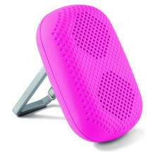 Portable Speaker with Carabiner 1,5W Pink