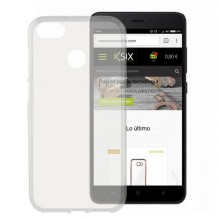 Mobile cover Xiaomi Redmi 4x Flex TPU Transparent